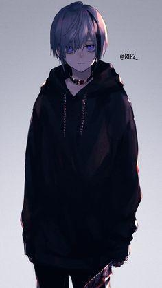 Anime Neko, Evil Anime, Yandere Anime, Animes Yandere, Anime Fnaf, Chica Anime Manga, Kawaii Anime, Anime Demon Boy, Dark Anime Guys