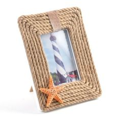 http://www.kirklands.com/product/Wall-Decor/Picture-Frames/Coastal-Rope-Photo-Frame-35x5/pc/2283/c/0/sc/2312/162206.uts #kirklands #pinitpretty