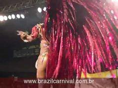"""Andrea Machado"" Final ""Rainha Carnaval"" 2011 Rio Samba Dancing Costume"