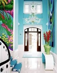 Colourful Hall with