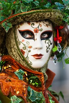 Venice Carnival - mask Luis Ascenso
