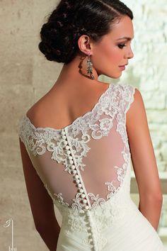 Mori Lee Blu 5305 Wedding Dress