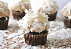 Chocolate Peanut Butter Coconut Cupcakes