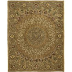 Shop for Safavieh Handmade Heritage Timeless Traditional Light Brown/ Grey Wool Rug (7'6 x 9'6). Get free shipping at Overstock.com - Your Online Home Decor Outlet Store! Get 5% in rewards with Club O!