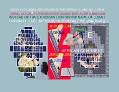 ISRAEL ILLEGALLY APPEAR ON THE GLOBED MAP UNDER JERUSALEM IN WHICH CONTRADICTS THE BOOK OF EZRA 1:3 IN WHICH PLACES JUDAH UNDER JERUSALEM AS SEEN IN THE AERIAL VIEWED NORTH EAST AFRICAN CONTINENT SPHINX 11 IMAGE OF JUDAE & JERUSALEM APPEARS  WITHIN  THE DOME OF THE ROCK OUTER WALL STONE RECTANGULAR WINDOW FRAME STEP PYRAMID (E0 AREA AS AN GIZA SPHINX LION OF ANCIENT JUDAISM ORIGINAL GLOBED EARTH STEP PYRAMID MERCATOR PROJECTIONS WHERE WE ACTUALLY SEE AN IMAGE OF THE NORTH EAST AFRICAN…