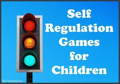 self regulation games for children www.YourTherapySource.com