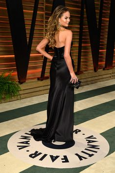 Chrissy Teigen - Stars at the Vanity Fair Oscar Party