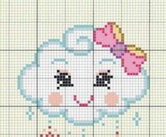 Baby Knitting Patterns, Loom Patterns, Cross Stitch Designs, Cross Stitch Patterns, Cross Stitching, Cross Stitch Embroidery, Unicorn Cross Stitch Pattern, Pixel Pattern, Cross Stitch Heart