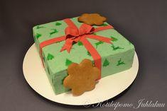 Joulupakettikakku Cake, Desserts, Food, Tailgate Desserts, Deserts, Kuchen, Essen, Postres, Meals