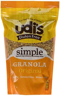 Udis Gluten Free Original Granola 24 Ounce Bag  Oats Honey Nuts Banana Chips Raisins *** Be sure to check out this awesome product. (This is an affiliate link and I receive a commission for the sales)