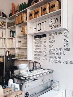 Coffee Shop Business Overview The coffee industry and the coffee shop business h. Small Coffee Shop, Coffee Shops, Coffee Shop Design, Coffee Cafe, Coffee Shop Menu, Cute Coffee Shop, Coffee Icon, Espresso Coffee, Coffee Lovers