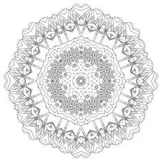 Mandala Abstract Art Coloring Pages Printable  Coloring Print