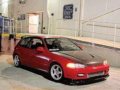 1995 Honda Civic SI Hatchback Wallpaper