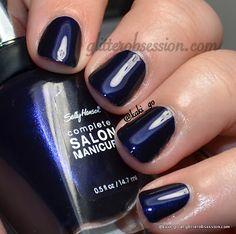 Sally Hansen [CSM] -  Navy Baby / GlitterObsession