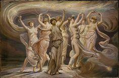 The Pleiadesby Elihu Vedder (New York 1836 –1923 Rome)