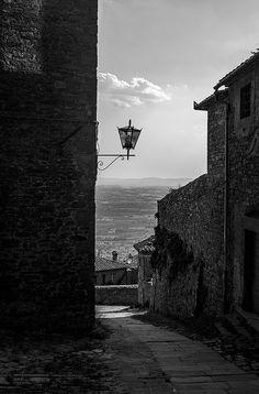 Cortona, Tuscany, Italy.