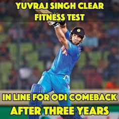 Yuvraj Singh to make a comeback in Indian Cricket Team ODI Team! - http://ift.tt/1ZZ3e4d
