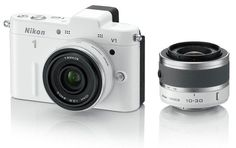#Nikon 1 V1 #White Kit 10-30mm VR 10mm 1 #Nikkor Lenses #Camera - Nikon Store