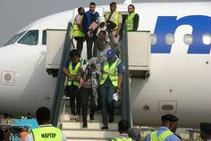 161 Nigerians Arrive Lagos Airport From Libya.