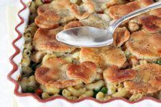 Baked Chicken Pot Pie Pasta Recipe