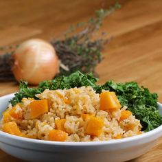 One-Pot Butternut Squash Pilaf