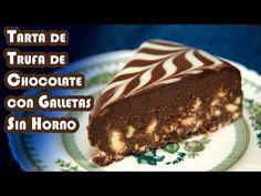 Tarta de chocolate y galletas sin horno con ron y avellanas   El Saber Culinario