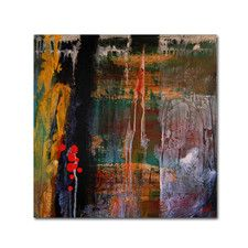 """""""Entitled"""" by Nicole Dietz Painting Print on Wrapped Canvas"""