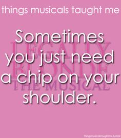 Sometimes You Just Need A Chip On Your Shoulder.