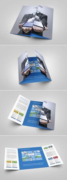 Metro Single Gate Fold brochure