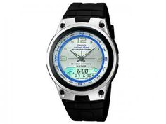 Relógio Masculino Casio Anadigi - Resistente à Água Cronômetro Mundial AW-82-7AVDF