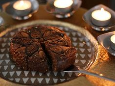 """""""Celebrate Diwali - The Victory of Light over Darkness"""" - with this raw vegan version of the classic Punjabi sweet """"Anjeer Barfi. This delicious dessert is totally raw, vegan, gluten free, oil free, dairy free and with no refined sugar."""""""