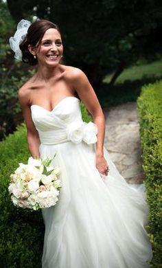 Used Watters Wedding Dress 6075B Size 4