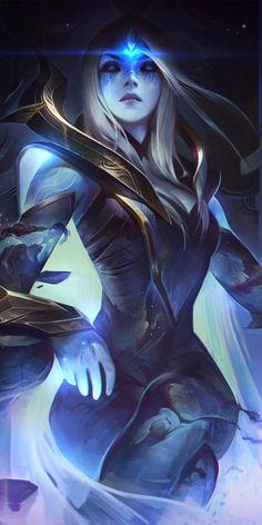 Hearthstone, World of Warcraft, girl warrior, art, wallpaper - League of Legends Dark Fantasy Art, Fantasy Kunst, Fantasy Art Women, Fantasy Girl, Fantasy Artwork, Final Fantasy, Lol League Of Legends, Akali League Of Legends, League Of Legends Characters