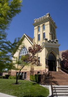 Historical LDS churches - this is the church building my in laws did their service mission