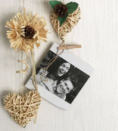 Photo Frames made of corn husk by coriagraphicarts on Etsy