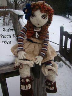 Sugar Peach Pie #079