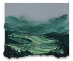 Conrad Jon Godly, Serenity, oil on canvas, 2014 Abstract Landscape, Landscape Paintings, Painting Inspiration, Art Inspo, Conrad Jon Godly, Painting & Drawing, Photo Art, Cool Art, Art Drawings