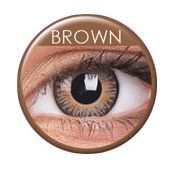 3 Tones Brown Prescription Colored Lenses  will help you to change your personality. Buy prescription colored lenses online from Lenses Sclera.