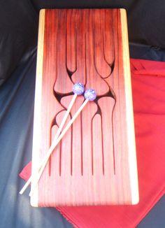 12-Key Jumbo Tongue Drum Oak by WoodArtbyLee on Etsy