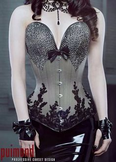 Beautiful full length corset.