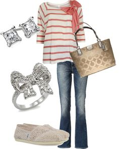 """""""bows"""" by kmarch14 on Polyvore"""