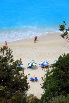 Egremni beach, Lefkada island ~ Greece