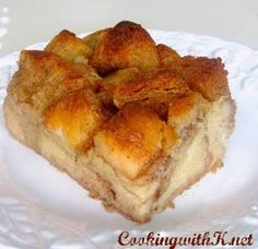 Bread Pudding - simple and with no raisins!