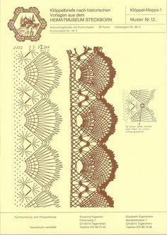 Archivio album Crochet Borders, Crochet Chart, Crochet Lace, Doilies Crochet, Bobbin Lace Patterns, Doily Patterns, Dress Patterns, Bobbin Lacemaking, Lace Heart