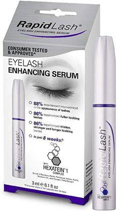 Eyelash Enhancing Serum, Eyelash Enhancer, Best Eyelash Growth Serum, Make Eyelashes Longer, Eyeliner Types, Pumpkin Seed Extract, Rapid Lash, Facial Skin Care, Amino Acids