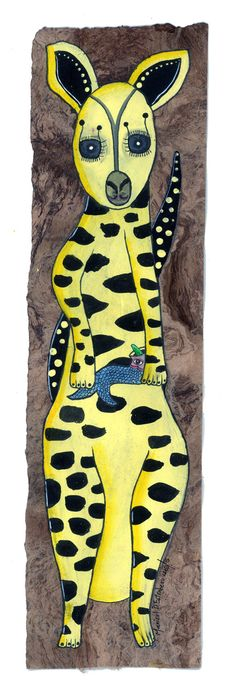 """Canguro disfrazado de jaguar"" Jaguar, Tigger, Disney Characters, Fictional Characters, Art, Kangaroos, Animales, Craft Art, Kunst"