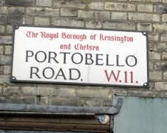 Portobello Road Market, London, UK
