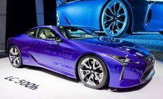 Lexus new hybrid LC 500h