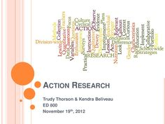 Using Wordle for Writing  action-research-15184448 by Trudy Thorson via Slideshare