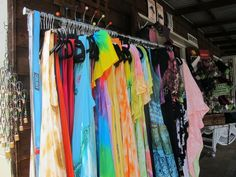 Beautiful summer tie-dye dresses - great for the beach or holidays!